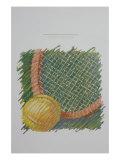 Tennis Racquet Giclee Print by Patti Mollica