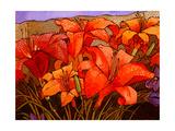 Day Lilies III Giclee Print by John Newcomb