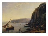 View of Sorrento, Near Naples Giclee Print by Silvestr Feodosevich Shchedrin