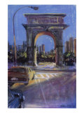 Washington Square Giclee Print by Patti Mollica