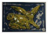 Rabbit Giclee Print by Leslie Xuereb