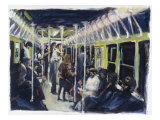Subway Giclee Print by Patti Mollica