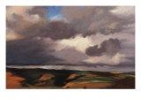 Landscape in Hawaii Giclée-Druck von Helen J. Vaughn