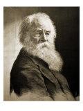 Walt Whitman Giclee Print by Moritz Klinkicht