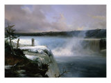 Chutes Du Niagara Giclee Print by Jean Charles Joseph R&#233;mond