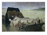 Les Enerves de Jumieges Giclee Print by Evariste Vital Luminais