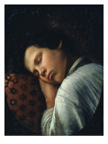 Sleeping Boy (Portrait of Avtiranov) Giclee Print by Nikifor Stepanovich Krilov
