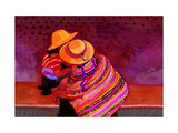 The Girls of Guatemala Giclee Print by John Newcomb