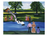 Baptism 3 Giclee Print by Anna Belle Lee Washington