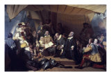 The Embarcation of the Pilgrims Giclee Print by Robert Walter Weir