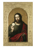 Christ with the Host Giclee Print by Juan Juanes
