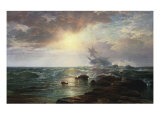 The Calm After the Storm Giclee Print by Edward Moran