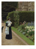The Lord of the Manor Giclee Print by Edmund Blair Leighton