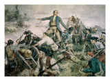 Battle of Lake George, 1755 Giclee Print by Frederick Coffay Yohn
