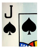 Royal Flush of Spades II Giclee Print by Teo Alfonso
