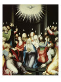 The Pentecost Giclee Print by Juan Juanes