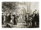 Highlights of the Life of Martin Luther Giclee Print by Pierre Antoine Labouchere