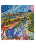 Path to Patagonia Premium Giclee Print by William W. Huggin