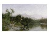 Adirondack Mountain Landscape Giclee Print by Arthur Parton