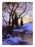 Winter Sunset Giclee Print by Walter Launt Palmer
