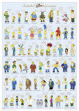 Simpsons- Classic Quotes Prints