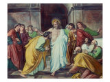 The Doubting Thomas Giclee Print by Alessandro Mantovani