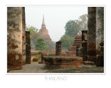 Ruins, Sukhothai, Thailand Photographic Print by Kevin Oke
