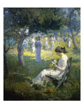 Garden Party Giclee Print by Mary Bradish Titcomb