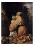 Abraham's Offering Giclee Print by Jan Lievens