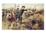 Gen John Starkat the Battle of Bennington,VT Giclee Print by Frederick Coffay Yohn