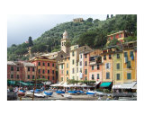 Afternoon In Portofino Photographic Print by Marilyn Bast Dunlap