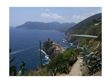 Cinque Terre Italy Vernazza Photographic Print by Marilyn Bast Dunlap
