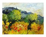 Olive trees 45 Giclee Print by Pol Ledent