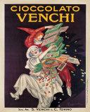 Cioccolato Venchi Posters par Leonetto Cappiello