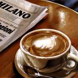 Cappuccino al Bar Print by Federico Landi