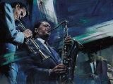 Blue Cool Plakat autor Jin G. Kam