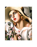 Portrait of a Girl Prints by Tamara de Lempicka