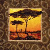 Savannah Sunset III Prints by  Madou