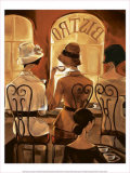 Rendezvous au Bistro Prints by Trish Biddle
