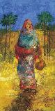 Femme du Village I Prints by Alexandre Millet