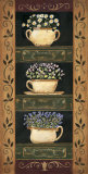 Teacup Herbs II Posters by Jo Moulton