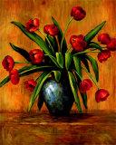 Tulipes rouges Affiches par Brian Francis