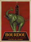 Bourdou Posters by Leonetto Cappiello