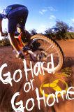 Go Hard or Go Home Plakat