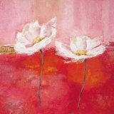 Fleurs en Rose I Plakater af Isabelle Herbert