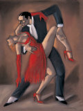 Tango de Passion Poster af Mariano Otero