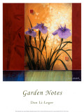 Don Li-Leger - Garden Notes Plakát