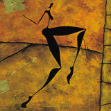 La Danse: Nritta et Nritya (detail I) Prints by Roberto Fantini