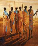 Les Gardiens de la Terre Poster von Jaques Beaumont