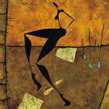 La Danse: Nritta et Nritya (detail II) Prints by Roberto Fantini